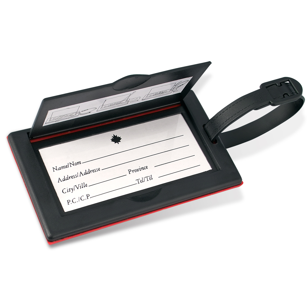 ML1644CF Luggage Tag Back